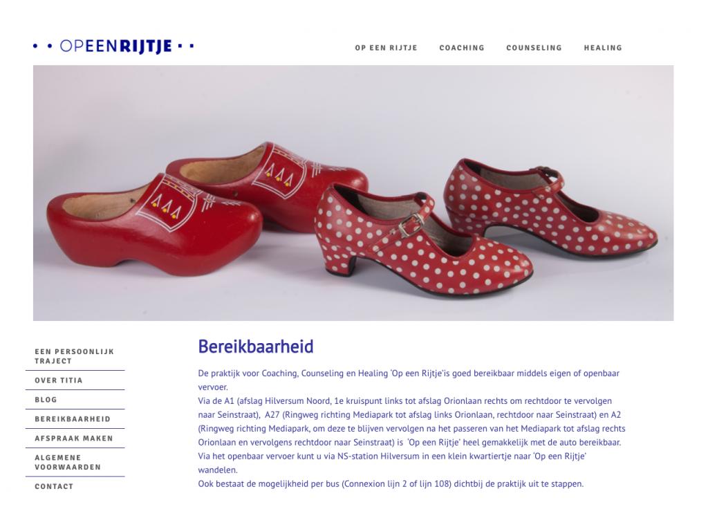 huisstijl website Hilversum